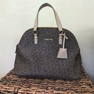 Calvin Klein Monogram Dome Bag